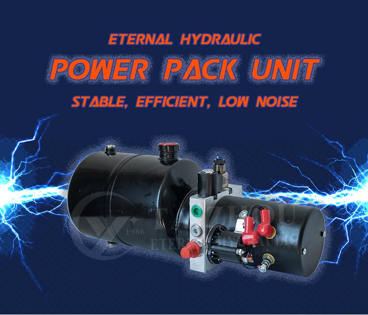 Mobile Portable Mini Power Units Hydraulic Power Pack Unit 220V Dc 12 Volt 24V 48V Pump Motor Credit Seller