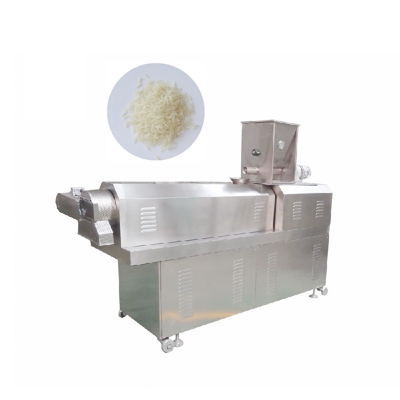 ECO Friendly Food <strong>Corn</strong> Rice Nutrition Instant Rice Making Machine Extruder Production Line