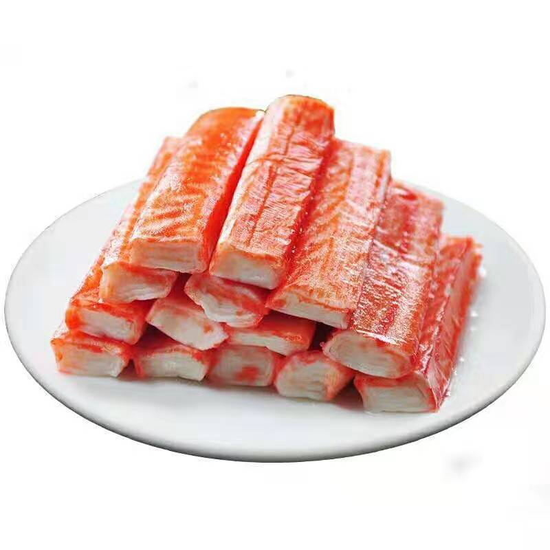 Wholesale frozen crab stick/Flake Salad Sushi Hotpot crab sticks seafood fish surimi crab sticks