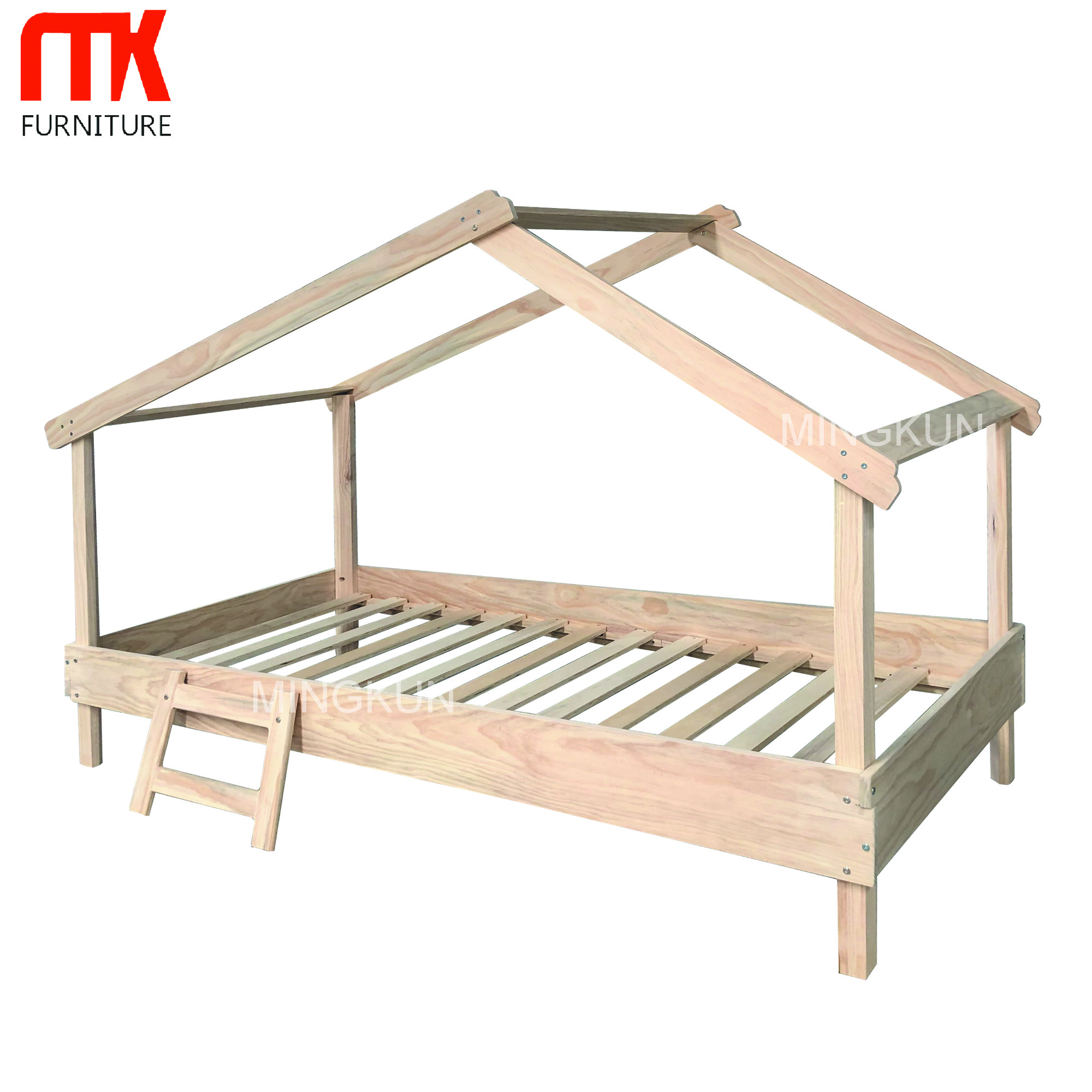 High quality kids children house beds for girls
