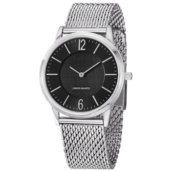 High quality  OEM logo sapphire  glass  swiss quartz 10ATM waterproof Women  mesh watch