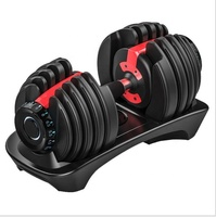 Adjustable weight lifting dumbbell set for home used gym equipment