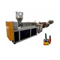 pet recycle polypropylene fiber making machine/pp pe twine yarn extruder extrusion line