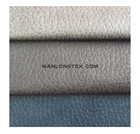 Embossed suede for upholstery