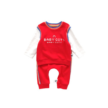 2019 trending products autumn sports skin friendly baby sets with oem service