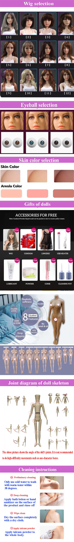 158CM Silikon Real Life Größe Niedrigen Preis Neue Naked China Sex Puppe