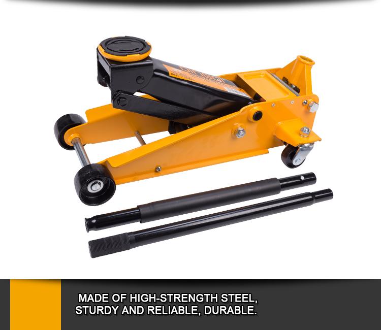 DingQi Durable New Design Heavy Duty 3Ton Hydraulic Horizontal Jack