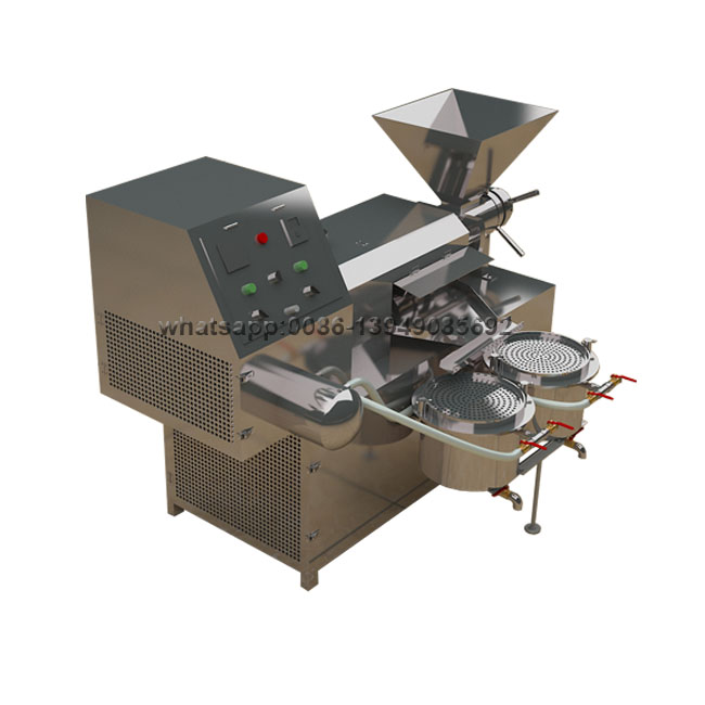 Automatic Ground Nut Soya Bean Hemp Seed 6Tons Oil Making Extraction Press Machine