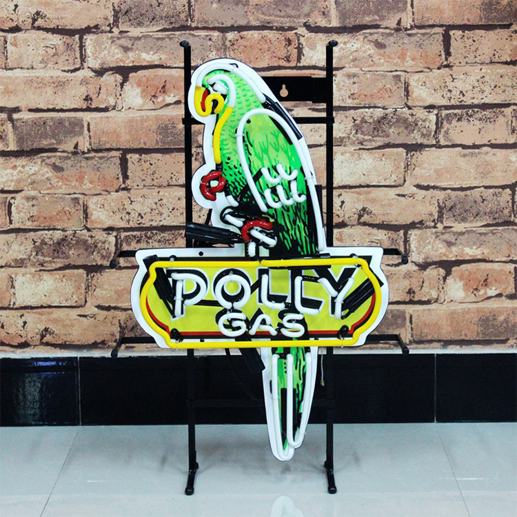 Retro style led sign glass tube neon sign customized patterns flexible neon light for bar use strong acrylic tube neon lights