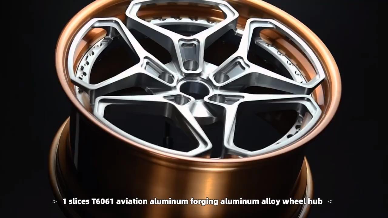 En Aluminium forgé roues 18 19 pouces roues de voiture chine jantes alu