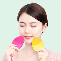 2019 Factory Wholesale Home Beauty Electric Waterproof Silicone Face Pore Cleanser Massager Facial Care Brush