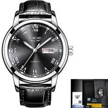 LIGE женские часы простые часы из нержавеющей стали повседневные модные часы женские спортивные водонепроницаемые наручные часы женские ...(Китай)
