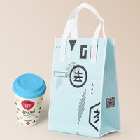 RuiChen Custom Logo Printed 100% Disposable Printing Shopping Plastic Bags Heat Seal Die Cut Waterproof Plastic Bag