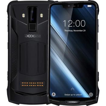 IP68/IP69K Waterproof DOOGEE S90 Unbreakable Rugged Mobile Phone 6.18 Inch 5050mAh Helio P70 Octa Core 6GB 128GB Android 8.1