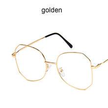 2020 модные женские очки, оправа для мужчин, оправа для очков, винтажные очки с прозрачными линзами, оптическая оправа для очков, алюминиевая, ...(Китай)