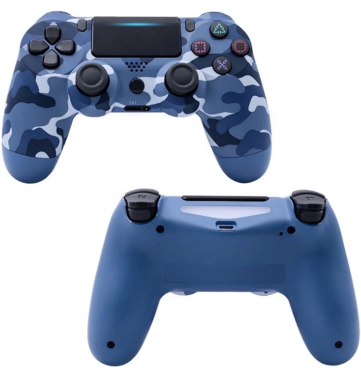 DP hot selling popular PS4 wireless game handle V2 new pattern wood grain <strong>Bluetooth</strong> <strong>controller</strong> neutral universal key manufacture