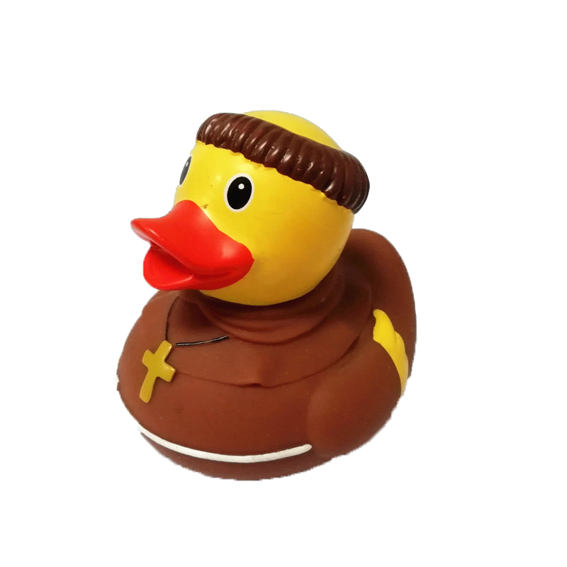 Sale GH-02 blue color vinyl bath duck rubber floating duck for 3 years gifts