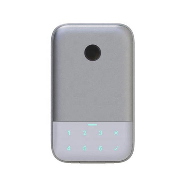 Keamanan Rumah Menggunakan Aplikasi Kontrol Hang Desain Elektronik Password Sidik Jari Gembok Kunci Pintar Kotak Penyimpanan