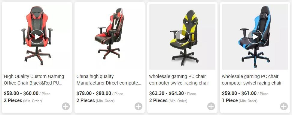 Hersteller Direkt computer gaming armlehne spiel ergonomische rocker stuhl oem gaming stuhl für pc gamer