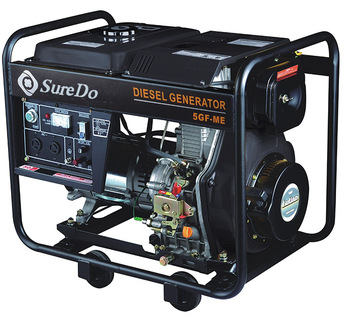 3.3/3.6kw 4 Stroke Air-cooled Single-cylinder 178F Engine Silent Diesel Generator