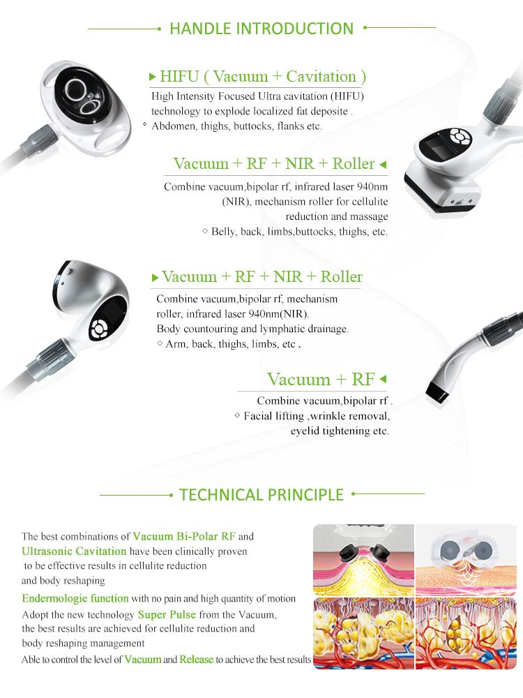 KLSi хит продаж оборудование для контуринга тела для похудения ультразвук RF вакуумная Кавитация + роликовый массаж Velashape машина