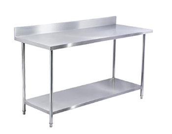 Stainless Steel Enbled Work Table