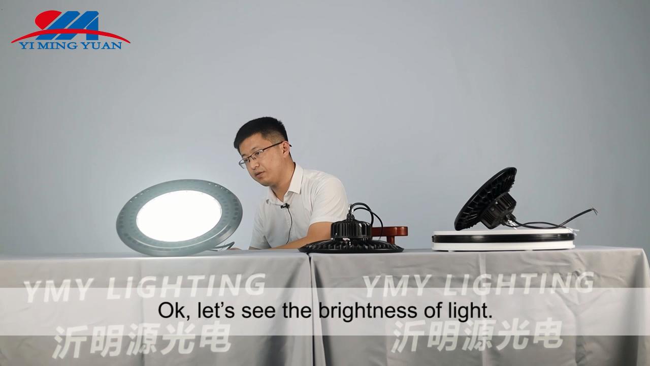 Сертификатом от сертификационной IECEE BIS CE TUV склада промышленное освещение НЛО высокого залива СИД SMD 100W/150W/200W Светодиодный уличный фонарь