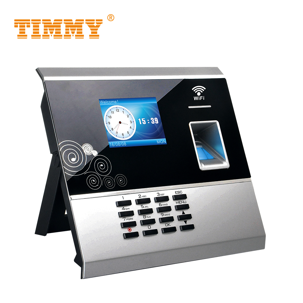 TIMMY TM30 Biometric Fingerprint Clock In System For Employee Time Clock Wifi Time And Attendance