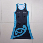 Dress Custom Made Netball Dress Without Moq