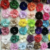 Hot Sale Mine Mesh Fabric Flower For Kids Clothes Artificial Flower Corsage