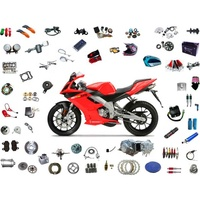 Custom CNC turning metal motorcycle parts motorcycle parts accessories