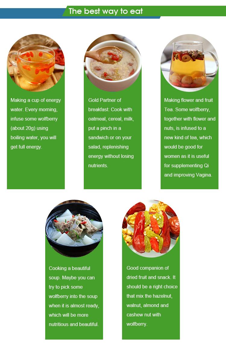 Органические Superfood Годжи Ягода Высший сорт