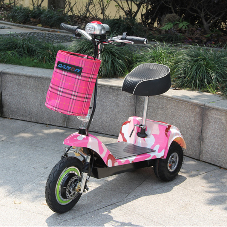 Mini 3 Wheel Electric Scooter Folding for adult Max Motor Power Battery