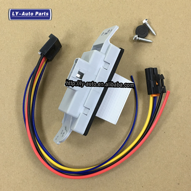 Muzzys PT1231 HVAC Blower Motor Resistor Connector Pigtail Harness FITS Colorado Canyon and 1000s of other GM Vehicles
