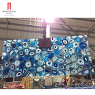 Polished Marble Onyx Blue Agate Table Blue Marble Top Yunfu Factory Blue Onyx Price