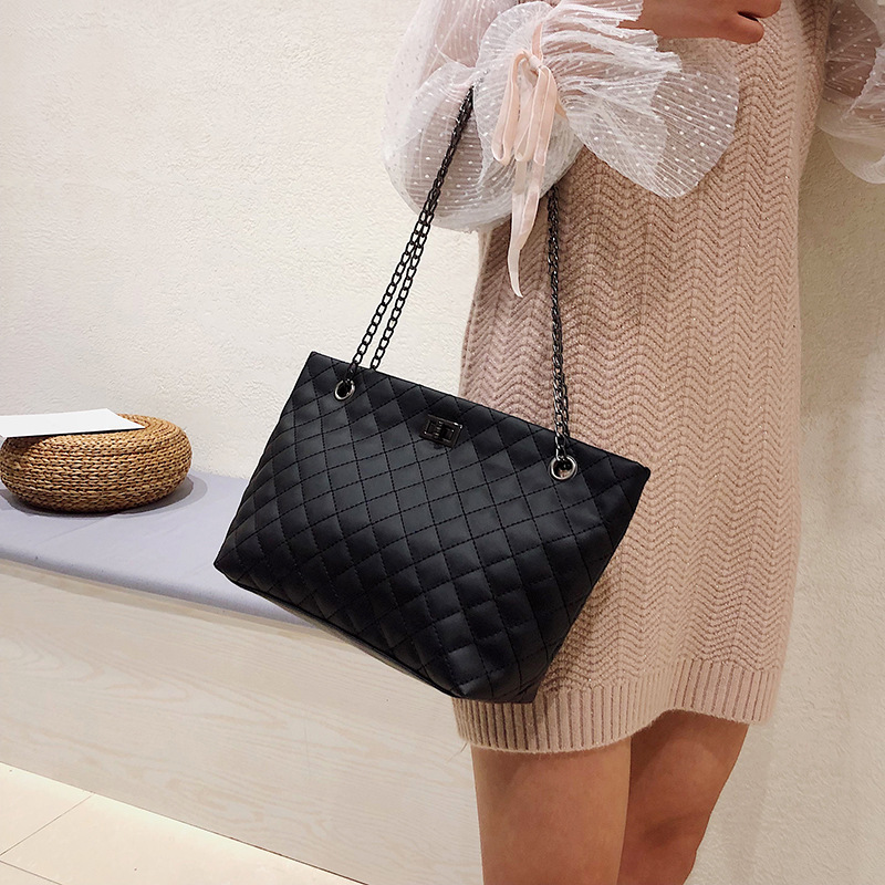 2020 New wholesale women bags leather shoulder bag  brand PU zipper large capacity bow handbags ladies
