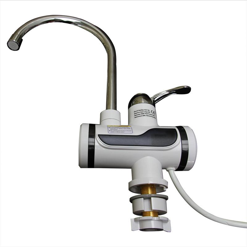 新しいスタイルのデジタルインスタントホット電気温水器蛇口間欠泉タップロック付き