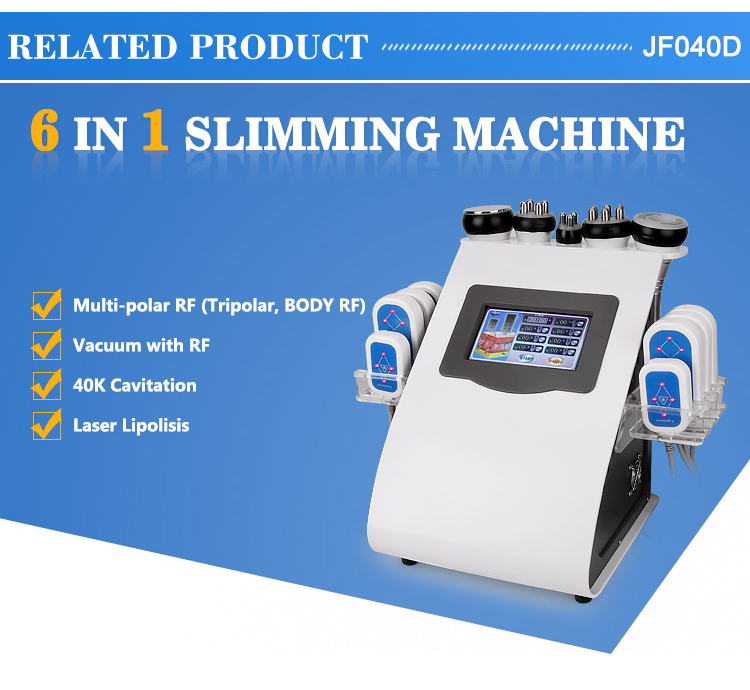 6 in q slimming machine JF040D