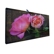 Transparan LED Display <span class=keywords><strong>Layar</strong></span> Penuh Warna LED Indoor Video Dinding Kaca <span class=keywords><strong>Layar</strong></span> LED
