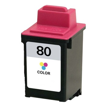 Remanufactured Replacement for Lexmark #80 (12A1980) Color Ink Cartridge