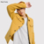 KY winter yellow men Point collar Button placket Chest pockets wool mix western jacket