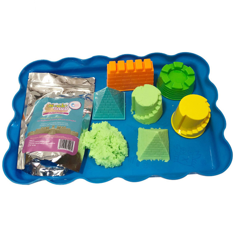 Enjoy play <strong>sand</strong> at home DIY kids toys crazy <strong>magic</strong> colored <strong>sand</strong>