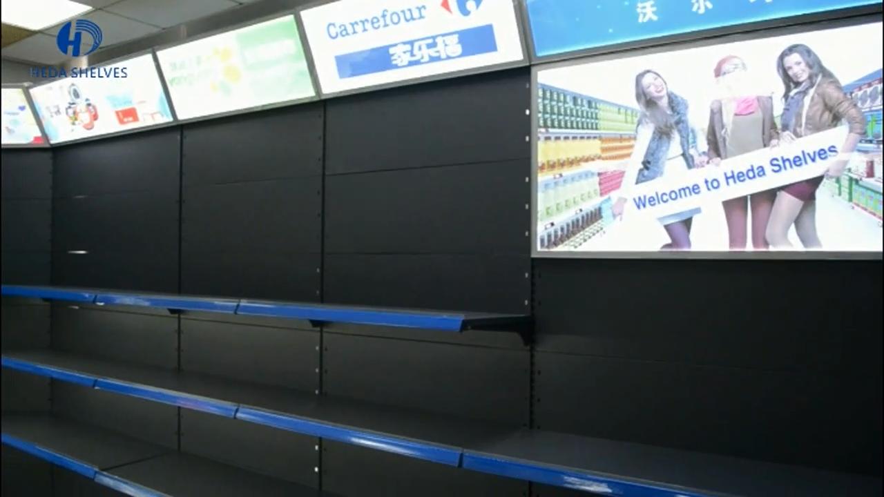 인기있는 멀티 케이스 슈퍼마켓 선반 슈퍼 가게 랙