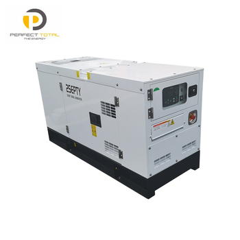 Soundproof type electric generator station diesel genset