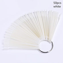 500 шт./кор. прозрачные белые длинные накладные ногти Съемные пластиковые ногти с коробкой инструменты для ногтей(Китай)