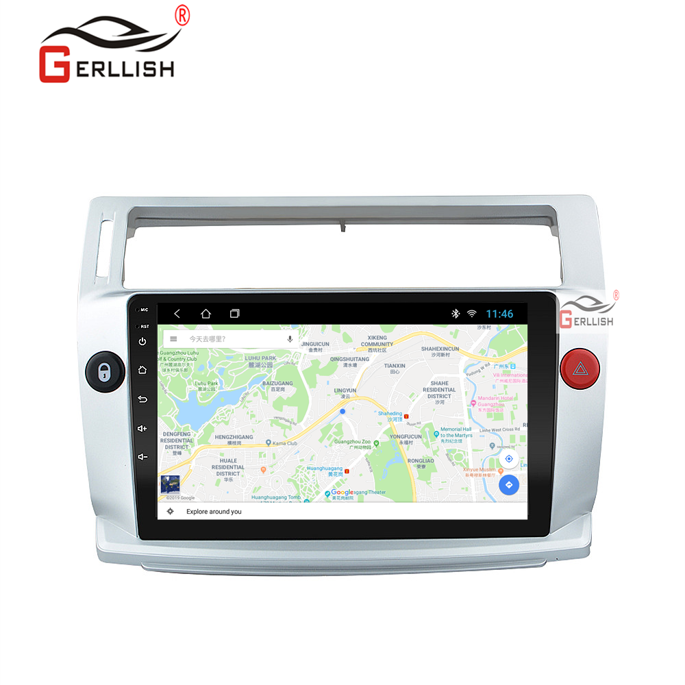 Android GPS c-quatre Citroen C4 c-triumph 2004 2005 2006 2007 2008 2009 araba radyo Video multimedya oynatıcı