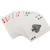 Customized paper playing card plastic playing card manufacturer