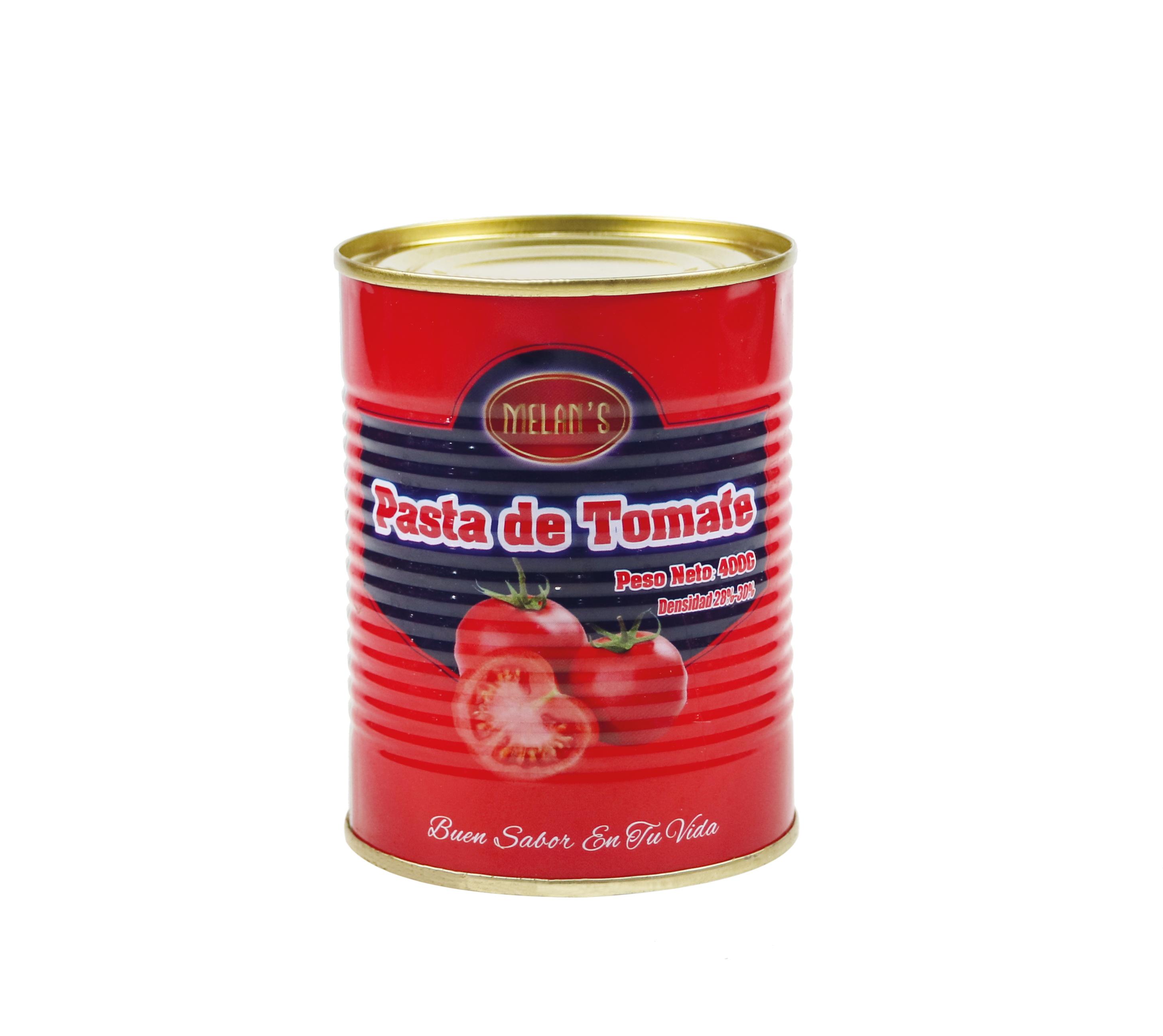 中国工場からの特別なトマトケチャップ缶詰食品ブリックス28-30% 210g