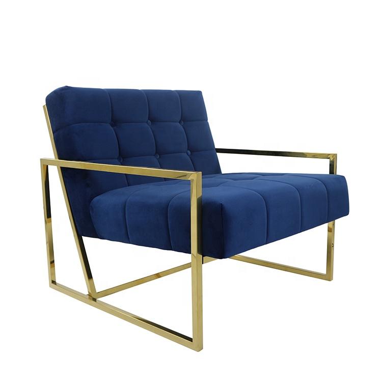 Astonishing Gold Velvet Armchair Finger Stainless Steel Frame Furniture Recliner Sofa Chair Buy Stainless Steel Furniture Recliner Sofa Chair Velvet Armchair Alphanode Cool Chair Designs And Ideas Alphanodeonline