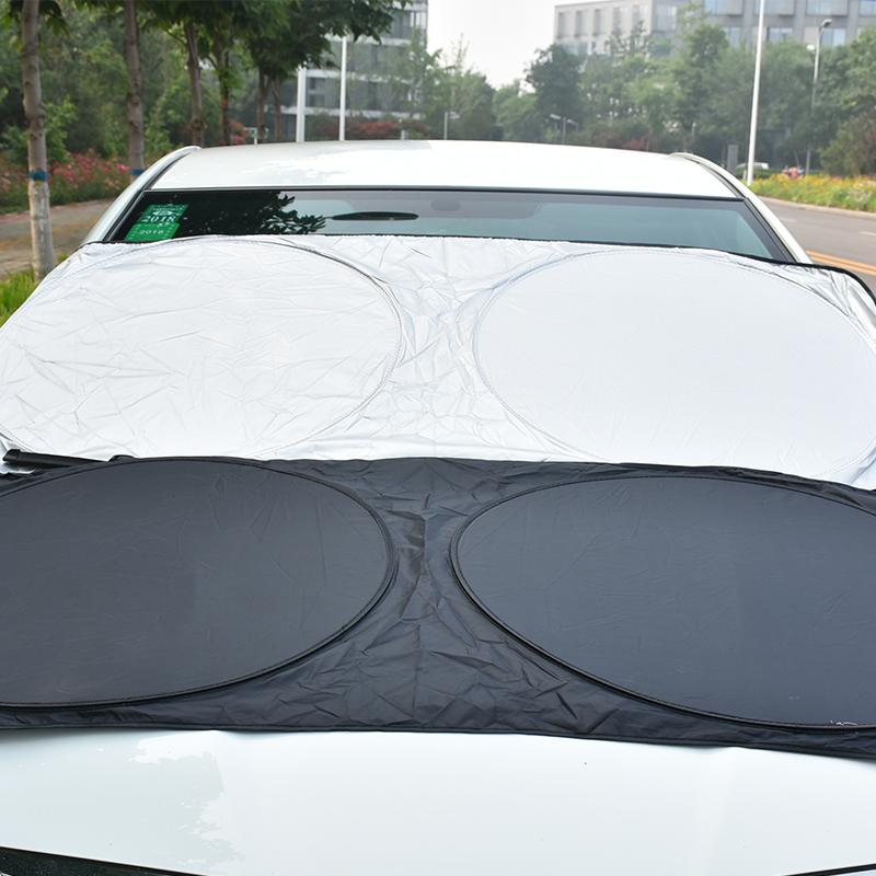 Car Sun Visor Customized Printing Car Windscreen Sunshade custom printing car sunshade